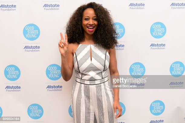 Monique Coleman attends the Allstate Foundation Good Starts Young Rally at The Wit Hotel on June 21 2017 in Chicago Illinois