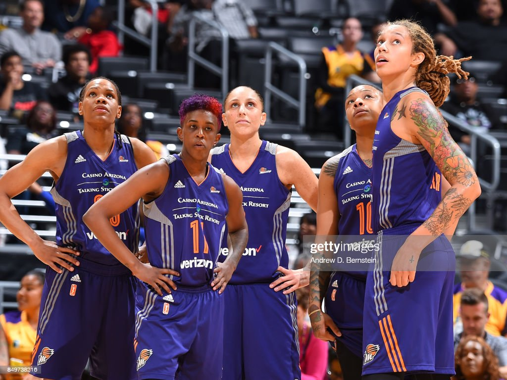 Phoenix Mercury v Los Angeles Sparks - Game One