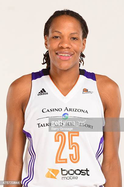 Monique Currie of the Phoenix Mercury poses for a headshot during the Phoenix Mercury Media Day on June 1 2015 in Phoenix Arizona NOTE TO USER User...