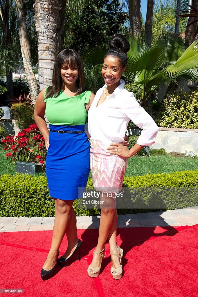 Monique Jackson and Kita Williams attend the 2nd Annual 'Gospel Goes To Hollywood' Awards Luncheon at Taglyan Cultural Complex on February 22, 2013 in Hollywood, California.