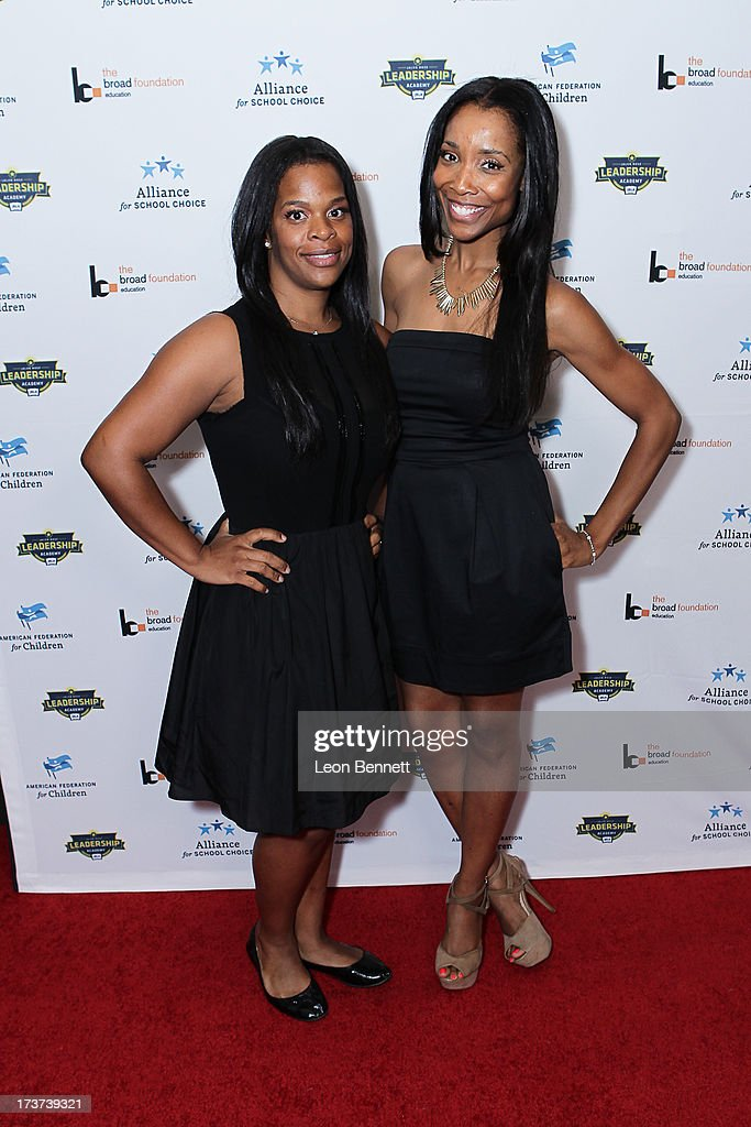 Monique Jackson and Kita Williams attended The Champions For Choice In Education ESPYs Kickoff Cocktail Party at Ritz Carlton on July 16, 2013 in Los Angeles, California.