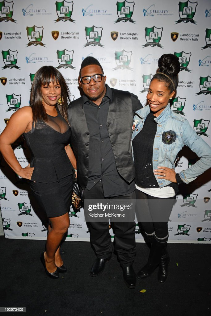 Monique Jackson, Kita Williams and guest attend the Executive Preparatory Academy Of Finance's 'Reason To Believe' Inaugural Charity Fundraising Gala at Vibiana on February 20, 2013 in Los Angeles, California.