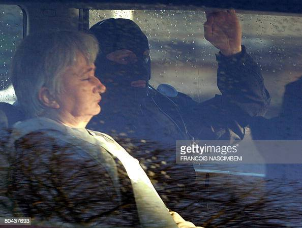 Monique Olivier the wife of selfconfessed French serial killer Michel Fourniret arrested in 2003 after an attempt to kidnap a 13yearold girl arrives...