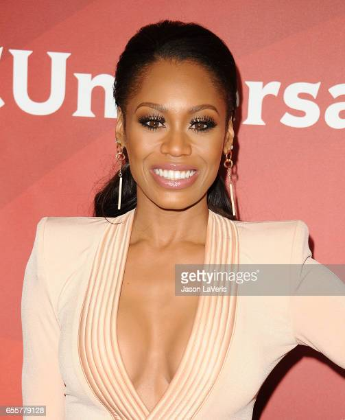 Monique Samuels attends the 2017 NBCUniversal summer press day The Beverly Hilton Hotel on March 20 2017 in Beverly Hills California