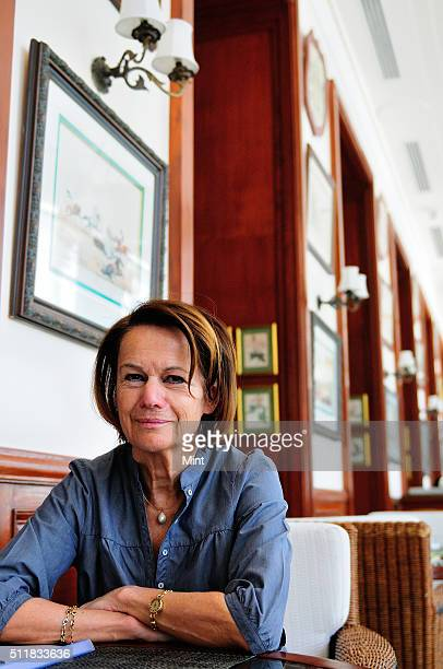Monique Villa CEO of Thomson Reuters and Founder of TrustLaw in Delhi poses for a profile shoot on April 7 2014 in New Delhi India