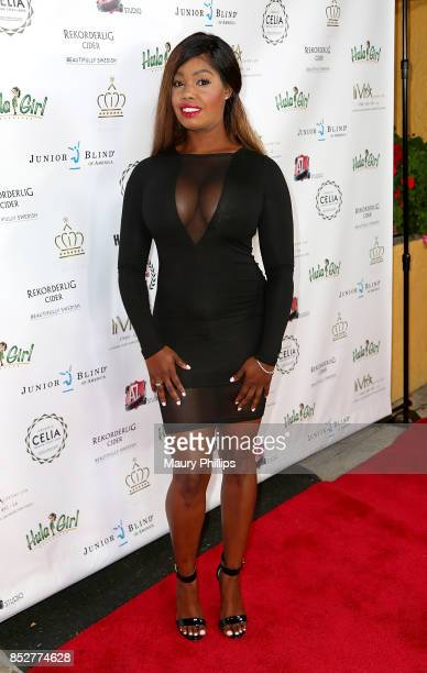 Monique Wheeler arrives at Hollywood Weekly Magazine 4th Annual film festival at Raleigh Studios on September 23 2017 in Los Angeles California