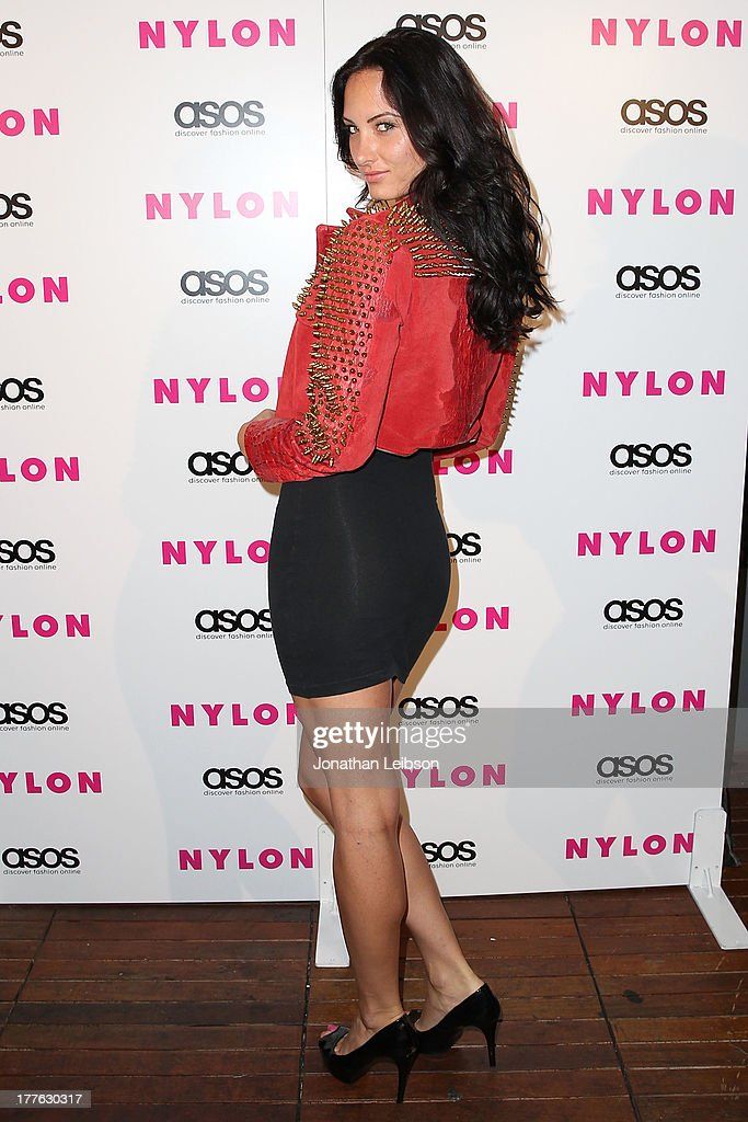 Monique Winegard attends the NYLON, ASOS + Cover Star Emily VanCamp Celebrate The September Issue At The Redbury at The Redbury Hotel on August 24, 2013 in Hollywood, California.