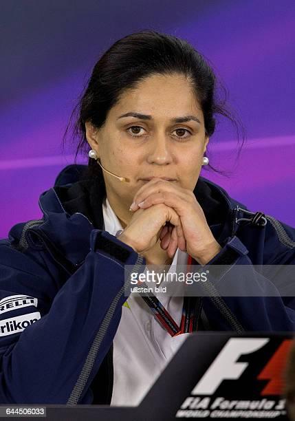 Monisha Kaltenborn Teamchefin Sauber F1 Team formula 1 GP Australien in Melbourne