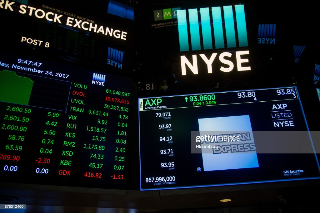 Trading On The Floor Of The NYSE As Holiday Retail Push U.S. Stocks Higher