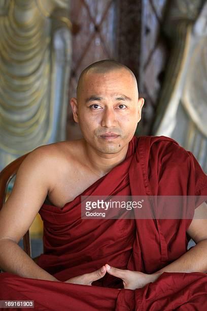 Monk Dharmikarama Burmese temple Penang