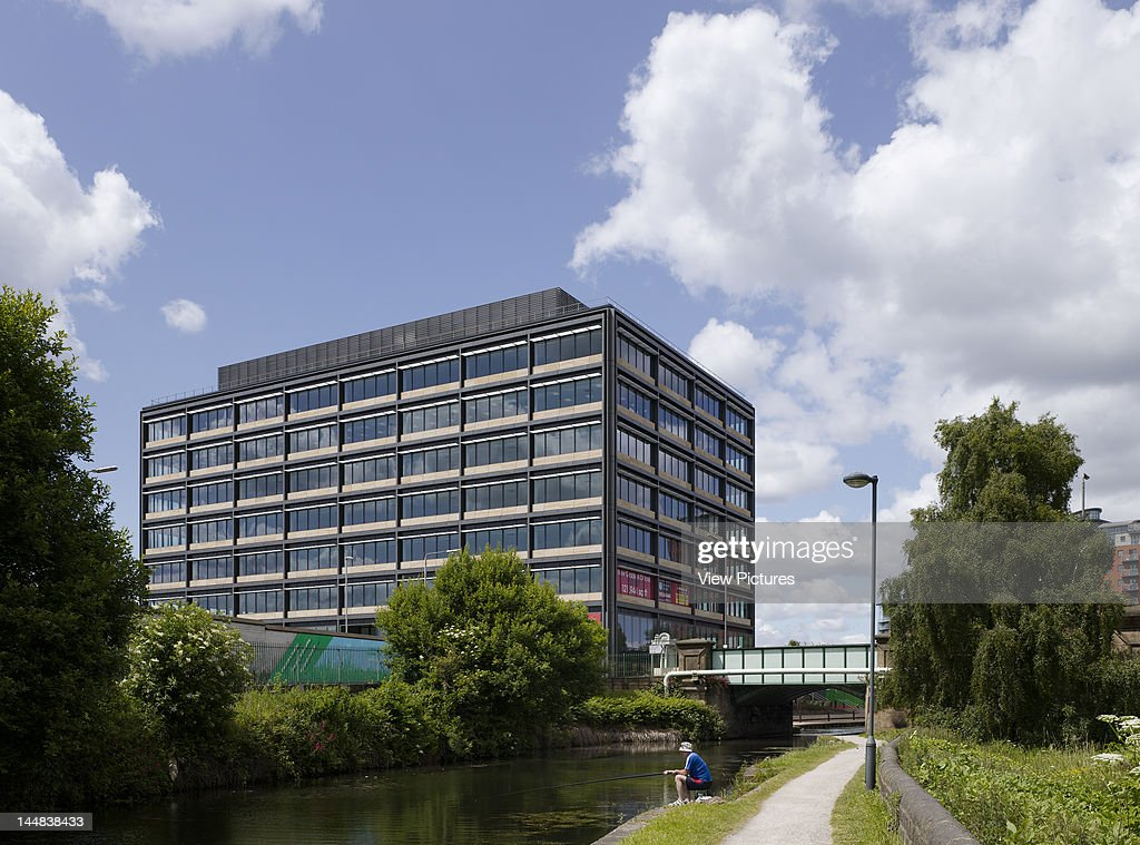 Monkbridge Office BuildingLeeds, West Yorkshire, United Kingdom, Architect: Allies And Morrison, 2009, Monkbridge Office Building Allies And Morrison Leeds Canal Elevation