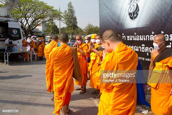Monks And Devotees Gather Outside Wat Phra Dhammakaya In Pictures