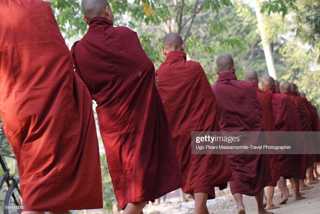 Monks in Myanmar : Stock Photo