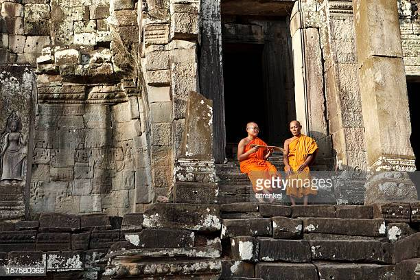 Monks in Siem Reap
