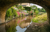 The Monmouthshire and Brecon Canal is a small network of canals in South Wales. For most of its 35-mile length it runs through the Brecon Beacons National Park