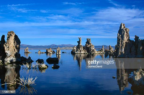 Lac Mono Tuf calcaire Formations