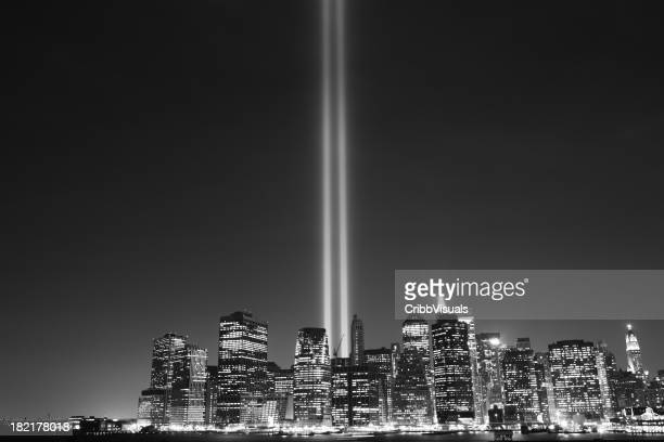 11. September World Trade Center Memorial Lichter New York 2006