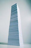 Monolith of paper
