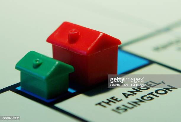 Monopoly board properties House prices in the UK have fallen for a third continuous month putting pressure on the Bank of England to cut interest...