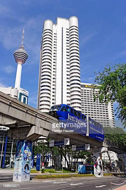 Monorail, Kuala Lumpur, transport, urban,