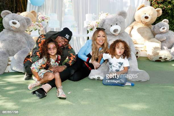 Monroe Cannon Nick Cannon Mariah Carey and Moroccan Scott Cannon attend the Moroccan Scott Cannon and Monroe Cannon Party on Mary 13 in Los Angeles...
