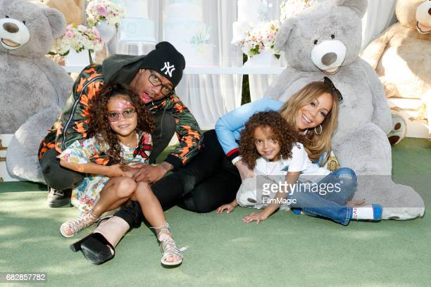 Monroe Cannon Nick Cannon Moroccan Scott Canon and Mariah Carey attend the Moroccan Scott Cannon and Monroe Cannon Party on Mary 13 in Los Angeles...