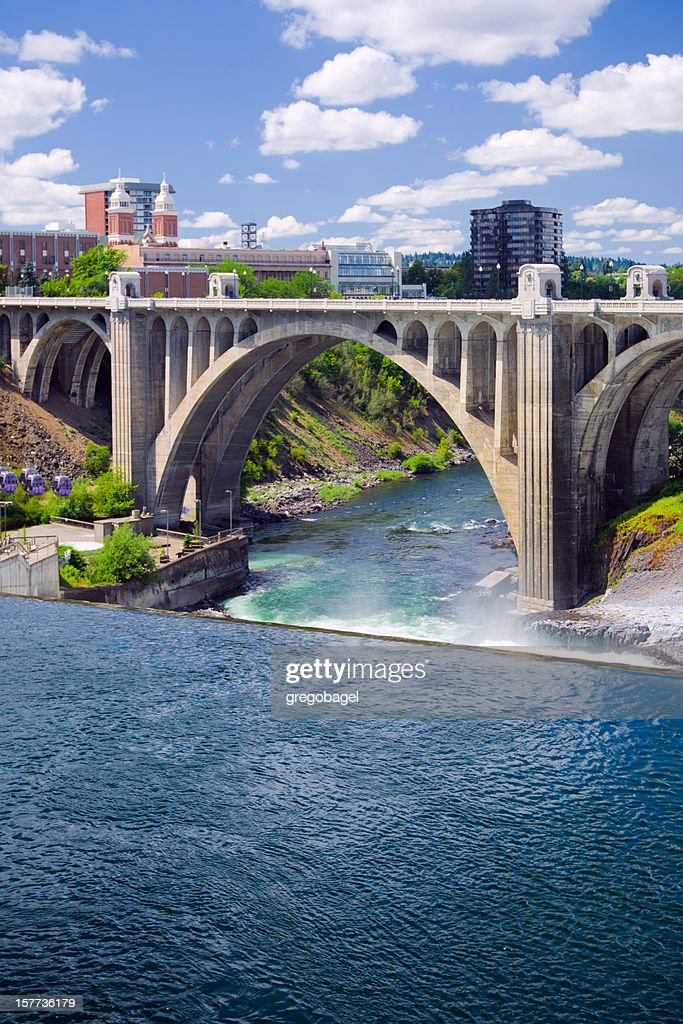 Monroe Street Bridge in Spokane, WA