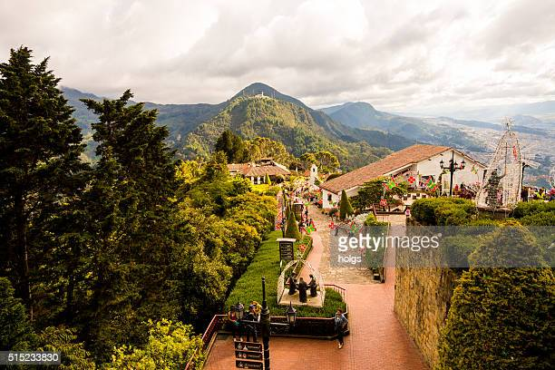 Monserrate Church in Bogota, Colombia
