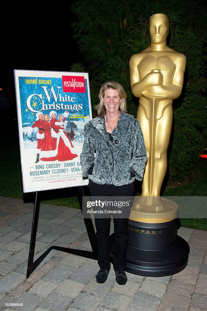 Monsita Ferrer arrives at the Academy of Motion Picture Arts and Sciences' Oscars outdoors screening of 'White Christmas' on December 6, 2012 in Hollywood, California.