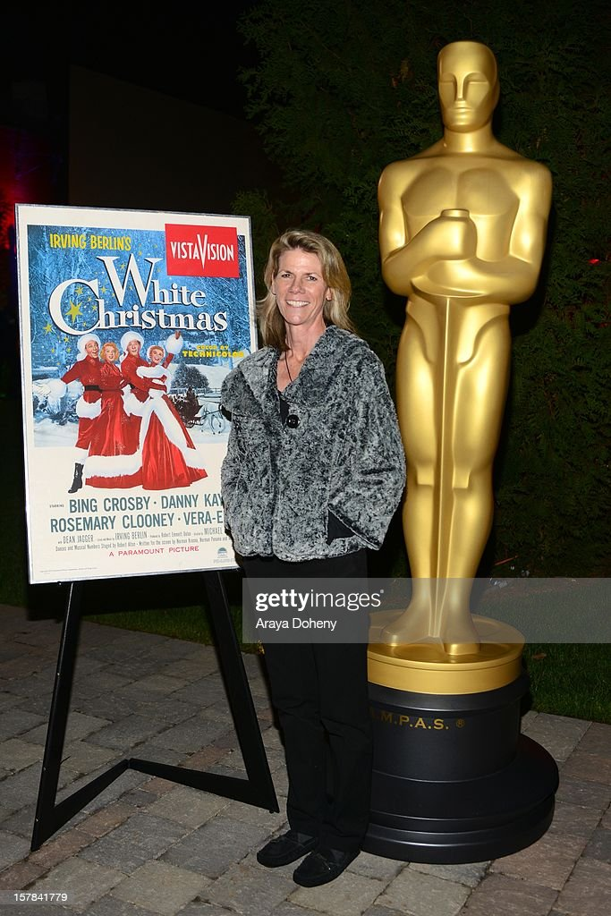 Monsita Ferrer attends the Academy of Motion Picture Arts and Sciences screening of 'White Christmas' held at Oscars Outdoors on December 6, 2012 in Hollywood, California.