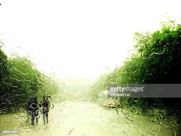 Monsoon Rain, Delhi, India
