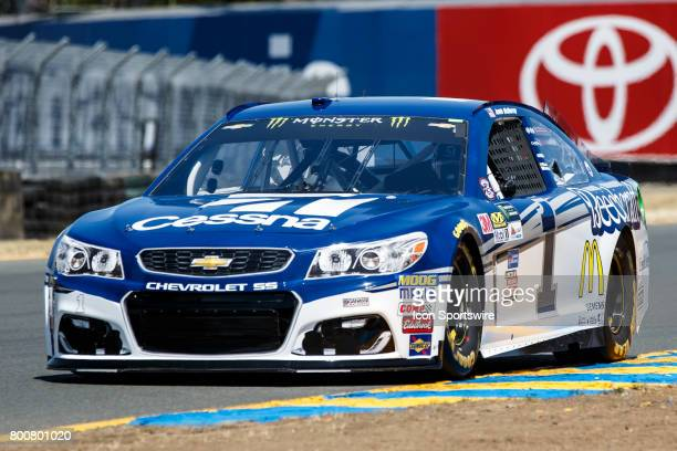 Monster Energy Cup Series driver Jamie McMurray during qualification for the NASCAR Monster Energy Cup Series Toyota/Save Mart 350 held at Sonoma...