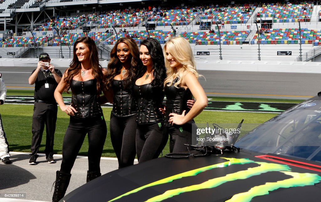 Auto Feb Nascar Monster Energy Cup Series The Clash At