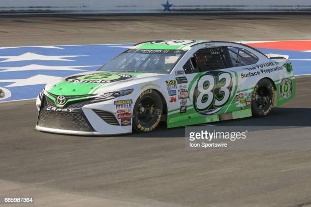 Monster Energy NASCAR Cup Series driver Corey LaJoie drives down pit road during qualifying for the Monster Energy NASCAR Cup Series O'Reilly Auto...