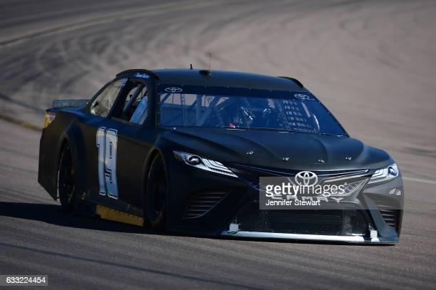 Monster Energy NASCAR Cup Series driver Daniel Suarez during a NASCAR testing at Phoenix International Raceway on January 31 2017 in Avondale Arizona