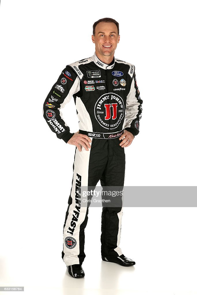 Monster Energy NASCAR Cup Series driver Kevin Harvick poses for a photo during the 2017 Media Tour at the Charlotte Convention Center on January 24, 2017 in Charlotte, North Carolina.