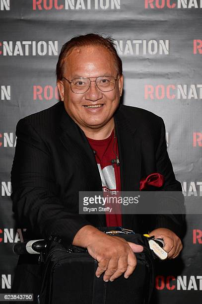 Monster Inc CEO Noel Lee attends the Roc Nation Latin Grammy Midnight Brunch at the Nobu Hotel Caesars Palace on November 16 2016 in Las Vegas Nevada