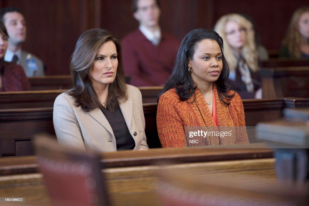 UNIT -- 'Monster's Legacy' Episode 1414 -- Pictured: (l-r) Mariska Hargitay as Detective Olivia Benson, Daria Hardeman as Kassandra Rhodes --