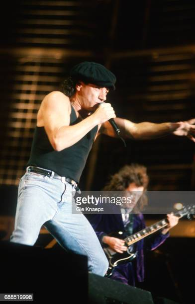 AC/DC Monsters of Rock Tour Brian Johnson Angus Young ACDC Kiewit Hasselt Belgium