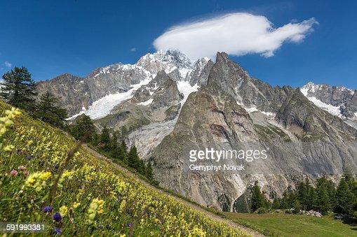 Mont Blanc, Italian side