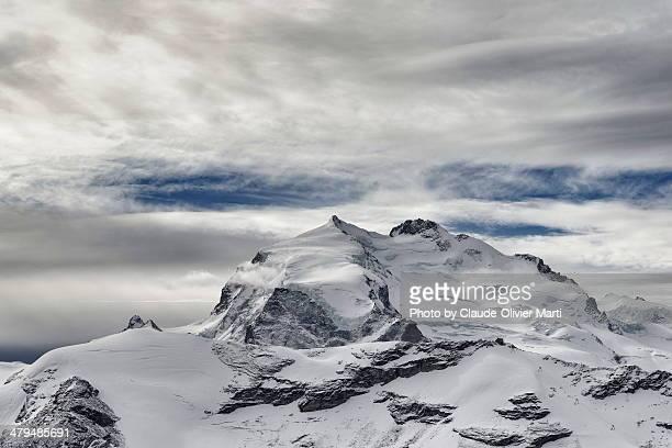 Mont Rose et la pointe Dufour, 4633m