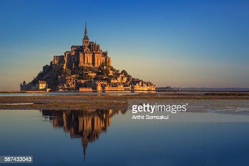 Mont Saint Michel bay