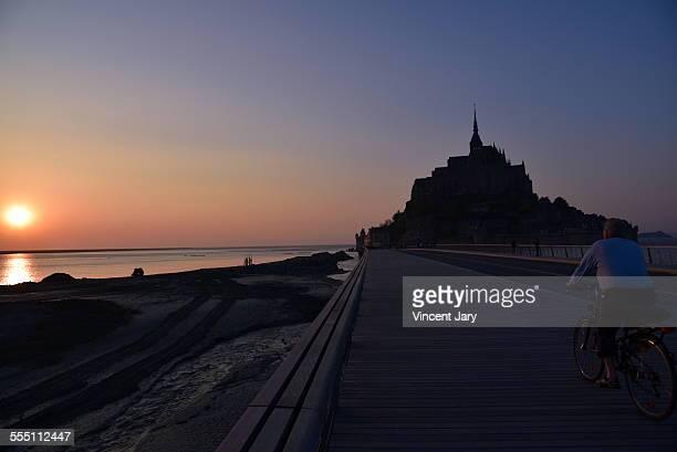 Mont Saint Michel bridge