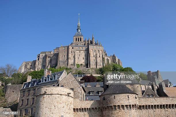 Mont Saint Michel, iconic rocky tidal island