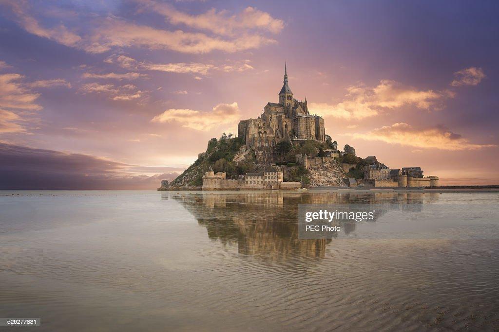 Mont Saint Michel : Stock Photo