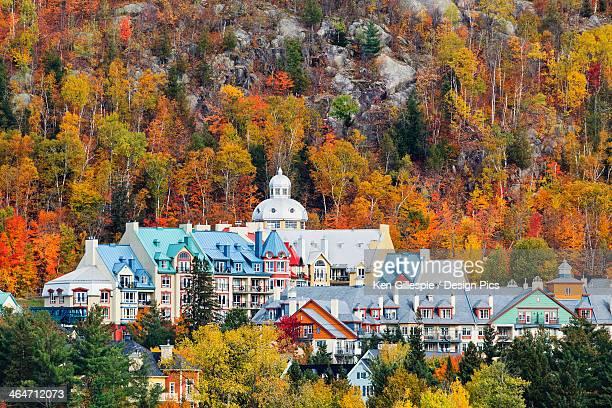 Mont Tremblant Village In Autumn
