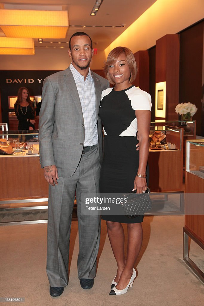 <a gi-track='captionPersonalityLinkClicked' href=/galleries/search?phrase=Monta+Ellis&family=editorial&specificpeople=567403 ng-click='$event.stopPropagation()'>Monta Ellis</a> and Juanika Ellis attend an in-store event hosted by David Yurman with <a gi-track='captionPersonalityLinkClicked' href=/galleries/search?phrase=Monta+Ellis&family=editorial&specificpeople=567403 ng-click='$event.stopPropagation()'>Monta Ellis</a> and Juanika Ellis benefiting Susan G. Komen October 29, 2014 in Dallas, Texas.