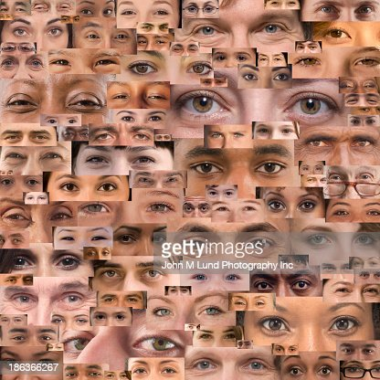 Montage of eyes