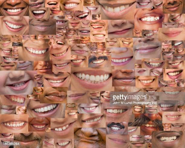 Montage of smiles