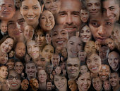 Montage of smiling faces